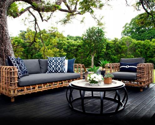 illustrasjon av årets utmøbler og sommermøbler fra Savannen-interior-Vakre uterom
