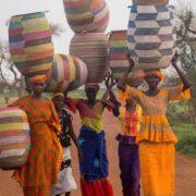 på innkjøpsreise i afrika