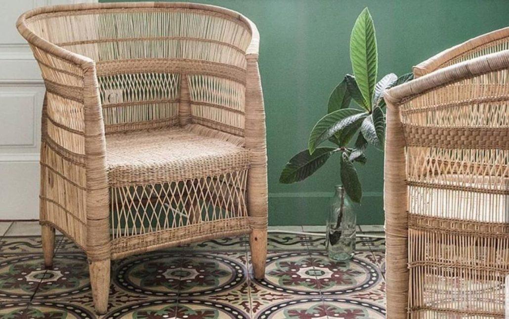 håndlagede stoler fra malawi